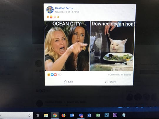 "A photo posted to local Facebook group ""Ocean City Cool"" parodies the Baltimore phrase for Ocean City."