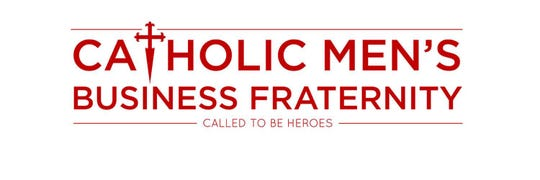 A logo for the Catholic Men's Business Fraternity.