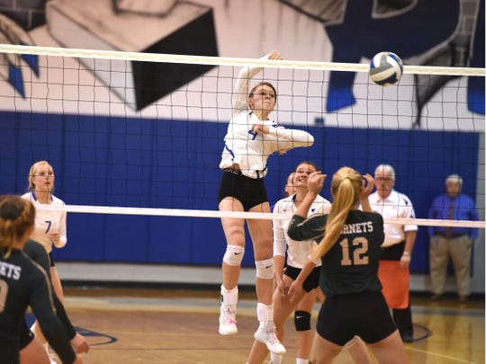 Lani Goggin's 311 kills earned her a spot on The News Leader's All-City/County first team.