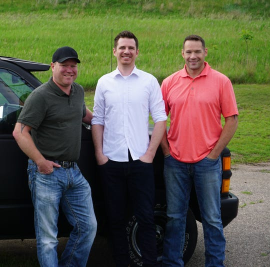 Owners Gary Spychala, Erik Gebault and Mark Seidenstricker