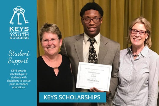 "KEYS"" stands  for ""Keys to Exceptional Youth Success,"" and is one of nine organizations being recognized for their life-changing work by the Beatitude Foundation and #GiveTLH."