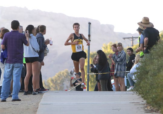 Nico Young and Newbury Park will be going for a national title Saturday in Portland, Oregon, after winning another state championship.