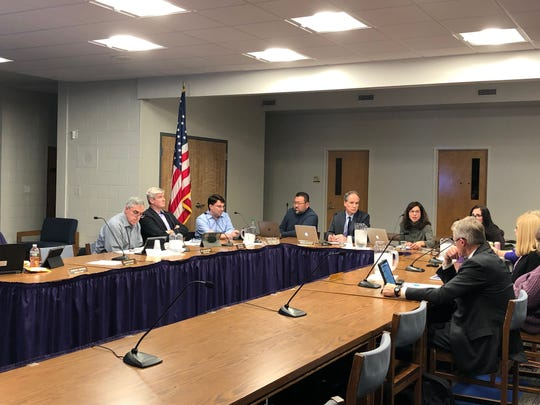 The Katonah-Lewisboro Board of Education met Thursday evening.
