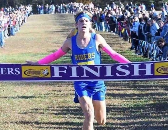 Blaise Moyer of Caesar Rodney won Delaware Online Athlete of the Week voting for Week 9 of the fall season.