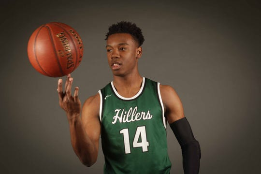 Donoven Mack of Tower Hill boys basketball won Delaware Online Athlete of the Week voting for Week 10 of the winter season.