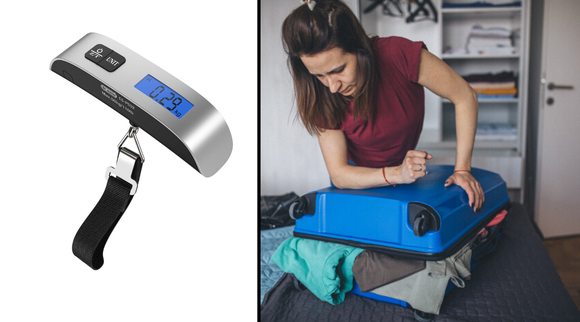 Best gifts under $10 2019: Dr. Meter Digital Luggage Scale