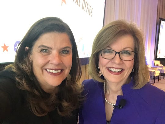 USA TODAY Editor-in-Chief Nicole Carroll and Washington Bureau Chief Susan Page attend a town hall to talk about 2020 election coverage