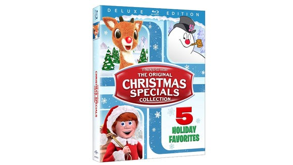 The most iconic Christmas Specials of the holidays, all on disc.