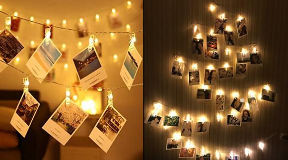 Best gifts under $10 2019: LED Photo String Lights