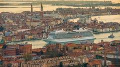 No. 3 cruise line in the Mediterranean: Viking Ocean Cruises