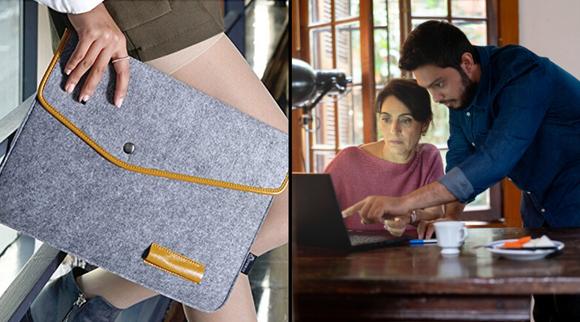 Best gifts under $10 2019: Lykoko Wool Felt Laptop Sleeve