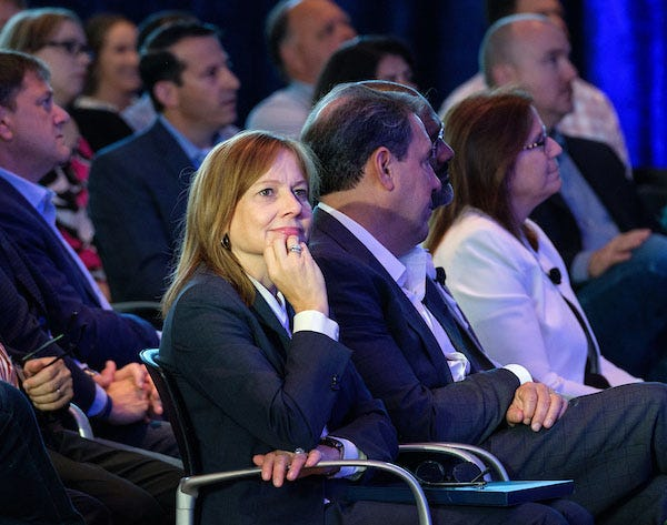The auto industry is still a boys' club at the top despite GM CEO Mary Barra's success