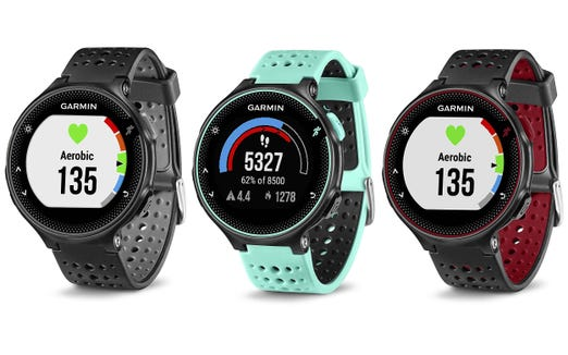 The Forerunner 235 is a great way to track your data on every run.