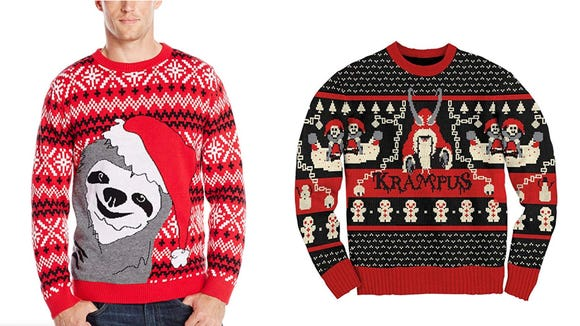 Holidays without ugly Christmas sweaters? We don't think so.
