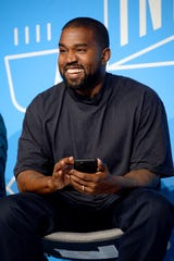 Kanye West shared the stage Sunday with Houston megachurch pastor Joel Osteen. The conversation took a puzzling turn quickly.