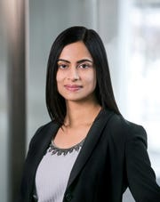 Dhivya Suryadevara was appointed as chief financial officer of General Motors on Sept. 1, 2018. She's the first woman in that role for GM.