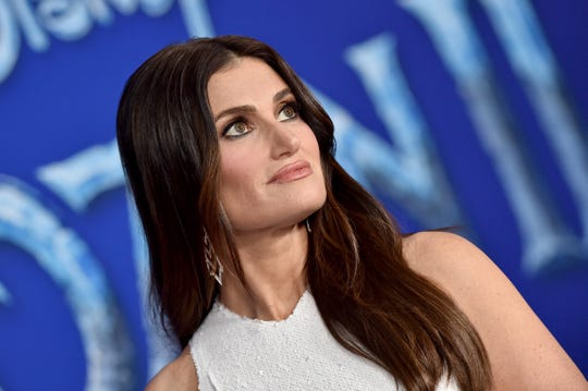 "Idina Menzel attends the Premiere of Disney's ""Frozen 2."""