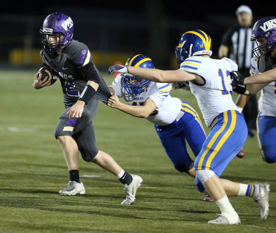 North Kitsap football player Colton Bower received Associated Press all-state honorable mention as a Class 2A defensive back.