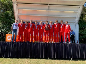 Satellite High's boys won the Class 2A cross country title on Saturday in Tallahassee.