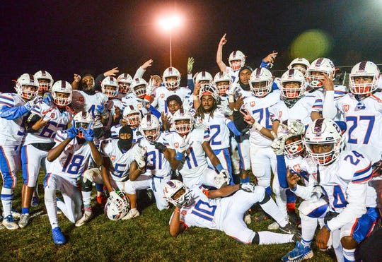 The Millville High School football team defeated Clearview on Friday night. The visiting Thunderbolts topped the Pioneers, 32-24 on Nov. 8, 2019.