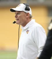 Northern Iowa coach Mark Farley has his team sitting at 5-1 in the Missouri Valley Football Conference and 7-3 overall.
