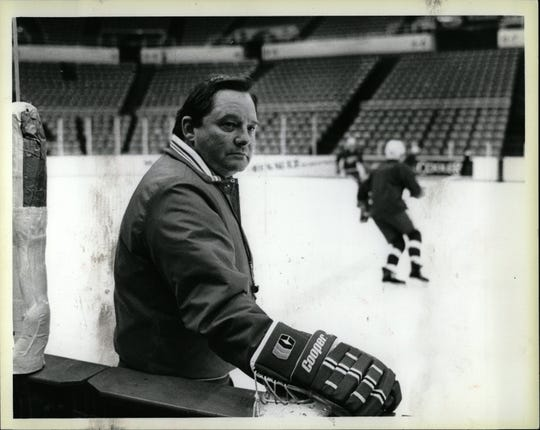 Harry Neale coached the Red Wings for just 35 games during the 1985-86 season.