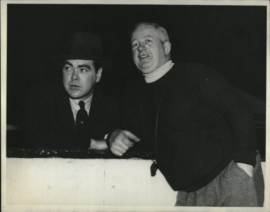 Red Wings owner James Norris and coach Jack Adams went from winning a Stanley Cup to the worst record in their division.