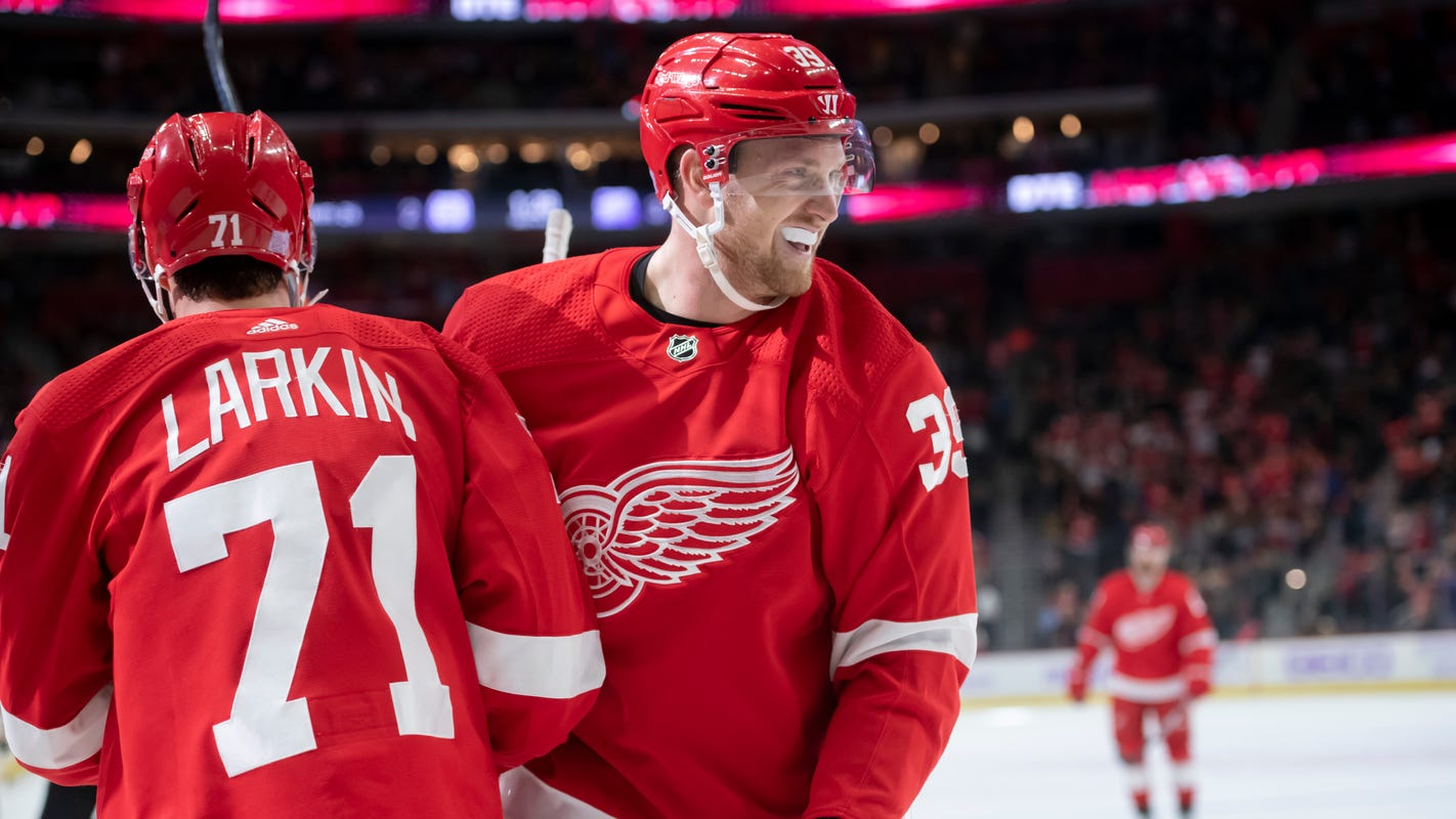 Anthony Mantha ready to return, which will deepen Red Wings' lineup