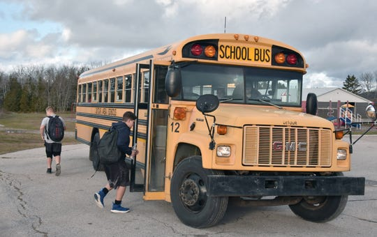 House Bills 5038, 5039 and 5040 would make it a misdemeanor to enter a school bus without the permission of the bus driver and a felony to do the same with the intent to physically hurt someone.