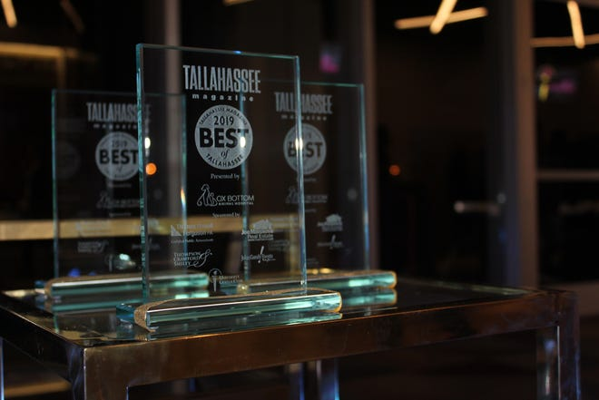 First place winners received a glass award and runner-ups for each category received a certificate to commemorate their standings in the 2019 Best of Tallahassee event.