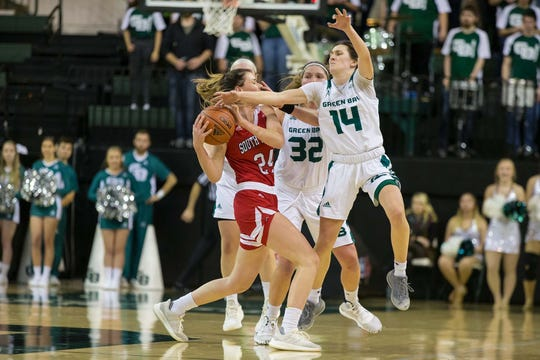 The UWGB women's basketball team fell to South Dakota on Saturday. The Phoenix is 1-1 with Missouri coming to town.