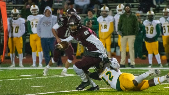 The Breaux Bridge High Tigers take on the Livonia High Wildcats Friday, Nov. 8, 2019.