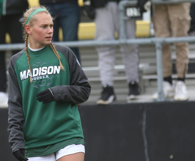 Madison's Taylor Huff was named the 2019 Mansfield News Journal Girls Soccer Player of the Year.