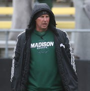 Madison girls soccer coach Zac Huff was named the Division II coach of the year by the Ohio Scholastic Soccer Coaches Association on Sunday.