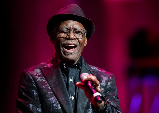 Rhythm and blues singer and songwriter Don Bryant performs at the Memphis Music Hall of Fame induction at the Cannon Center for Performing Arts on Nov. 8, 2019.