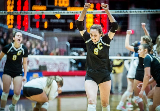 Cowan defeated Trinity Lutheran 3-2 in their state championship game at Worthen Arena Saturday, Nov. 9, 2019. This gallery will be updated.