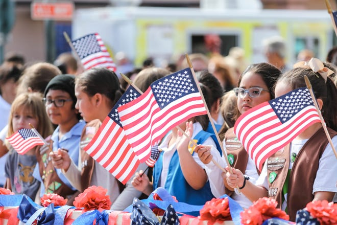 The Las Cruces Veteran's Day Parade took place down Main Street in Downtown Las Cruces on Saturday, Nov. 9, 2019.