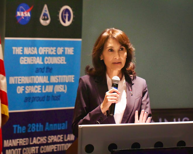 Melissa Force, general counsel for New Mexico Spaceport Authority.