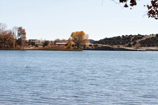 Lake Farmington is pictured on Oct. 25, 2019 in Farmington.