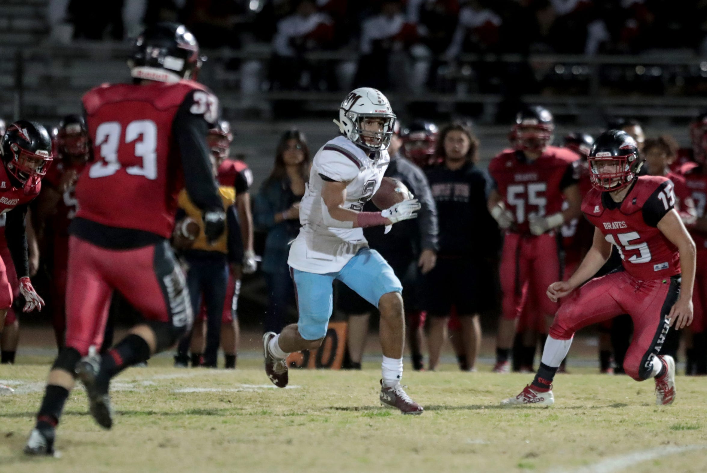 Jevin Dorsey was a 34-game starter at Rancho Mirage High School.