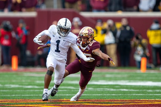 KJ Hamler is Penn State's biggest game-breaker, but his health is questionable this week.