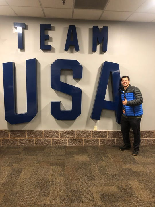 Chase Blueberg, 24, from Carson City, has qualified for the USA Bobsled team.
