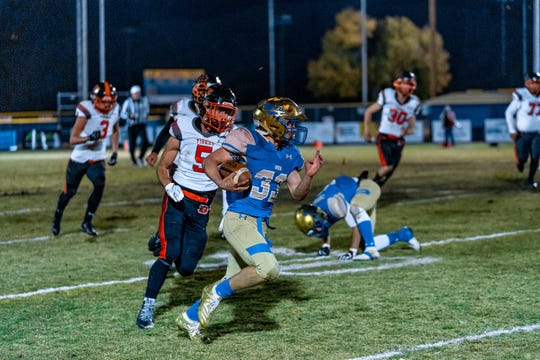 Reed beat Douglas, 63-21 Friday night in a a Northern 4A Regional football playoff game at Reed.