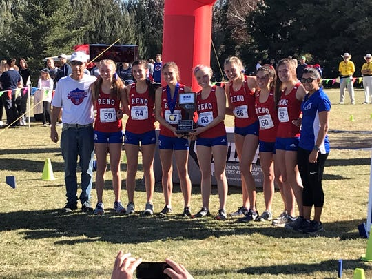 The Reno girls were second in the team standings.