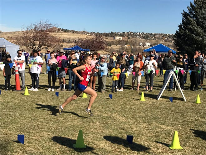 Reno junior Penny Smerdon won the girls state cross country race in 2019. The state meet was not held this school year.