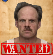 Michael Lynn Gray. Date of birth: July 15, 1967. Vitals: 5 feet, 5 inches, 240 pounds, brown hair, green eyes. Charge: Felony with firearm, burglary.