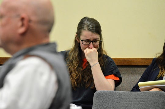 Kendra Andersen-Schwegerl was sentenced to 30 years to life in prison on Friday, Nov. 8, 2019, for a drunk driving crash that killed two Hoopa teens in 2017.