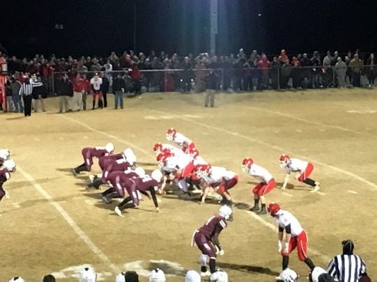A packed house saw Riverheads beat Stuarts Draft Friday night.