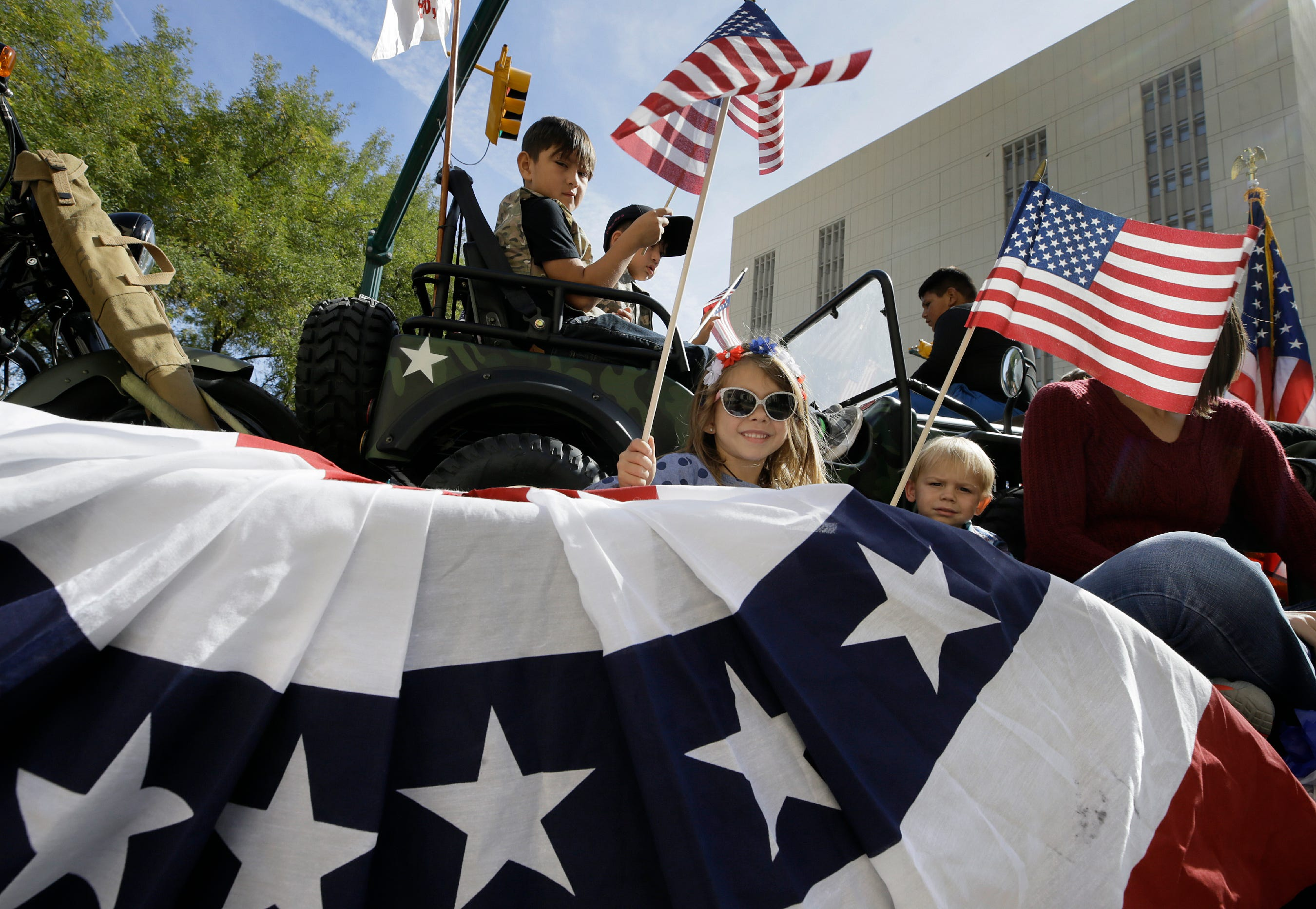 The 2019 El Paso Veterans Day Parade