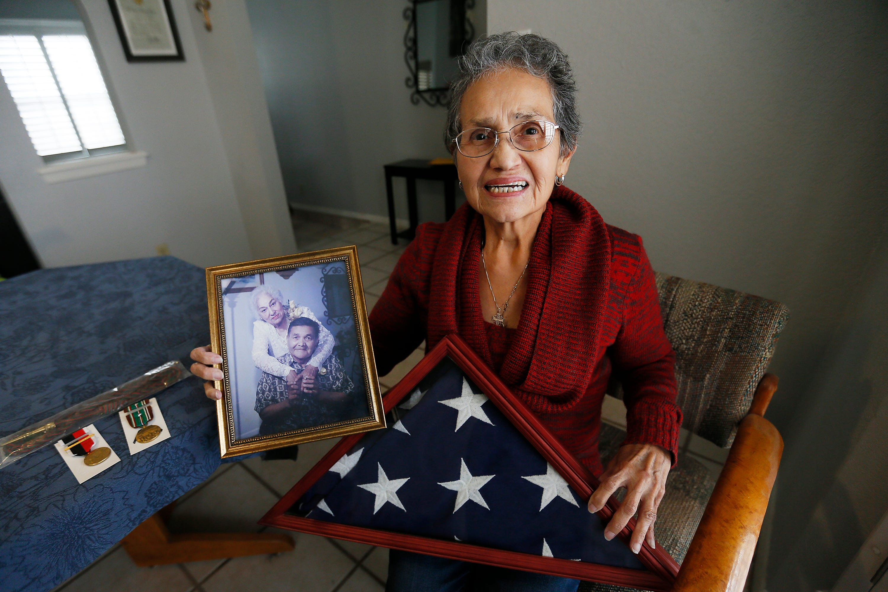 El Paso veteran's daughter seeks Purple Heart for her deceased dad